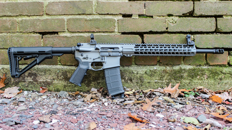 Tactical Grey AR15