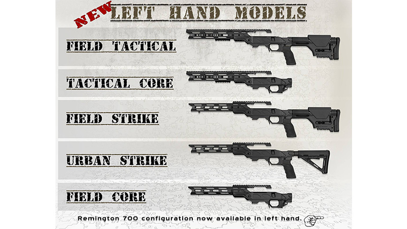 Cadex Left Hand Models