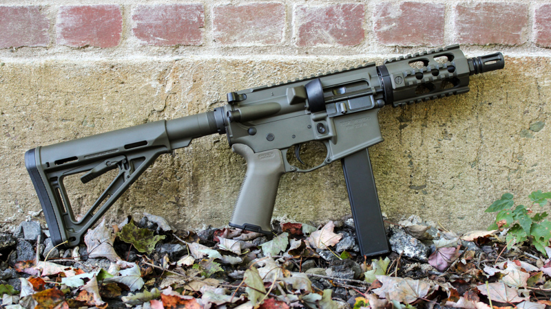 Magpul OD Green 9mm SBR